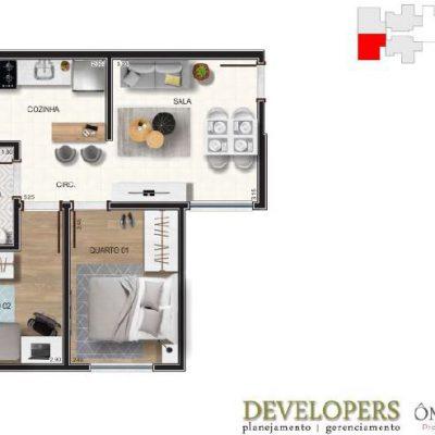 Apartamento Coluna