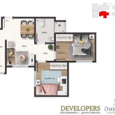 Apartamento Sacada